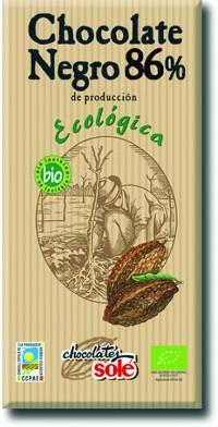 Organic Dark Chocolate 86%