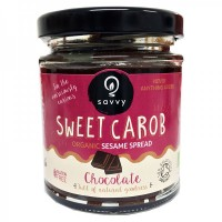 Naturally Sweet Organic Carob Sesame Spread: Chocolate