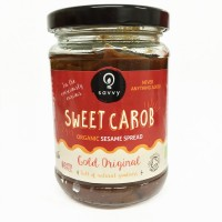 Naturally Sweet Organic Carob Sesame Spread: Gold Original